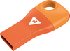 Emtec D300 - USB 2.0 Flash Drive - Car Key - 8GB - Orange