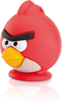 Emtec A100 - USB 2.0 Flash Drive -  Angry Birds Red  - 8GB