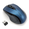 Kensington Pro Fit Wireless - Mid-Size Colored Mouse - Blue