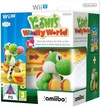 Yoshi's Woolly World plus amiibo Yarn Yoshi Green (Wii U) Cover
