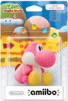 Nintendo amiibo Yarn Yoshi - Pink (For 3DS/Wii U)