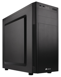 Corsair - Carbide 100R Silent Edition ATX Case - Black - Cover