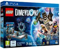 LEGO Dimensions Starter Pack (PS4) - Cover