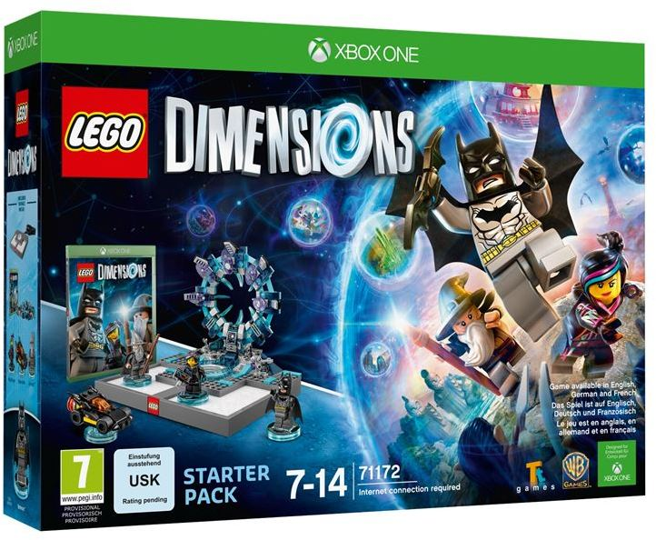 Lego Games For Xbox 1 : Lego dimensions starter pack xbox one video games