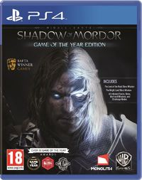 Middle-Earth: Shadow of Mordor (PS4) - Cover