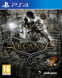 Arcania: The Complete Tale (PS4) - Cover