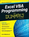 Excel Vba Programming For Dummies - John Walkenbach (Paperback)