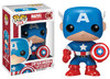 Funko Pop! Marvel - Marvel Bobble Head: Captain America