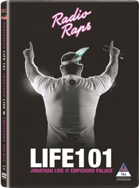 Radio Raps: Life 101 Jonathan Live @ Emperor's Palace (DVD) - Cover
