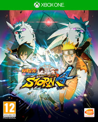 Naruto Shippuden: Ultimate Ninja Storm 4 (Xbox One) - Cover