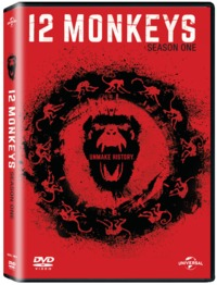 12 Monkeys - Season 1 (DVD) - Cover