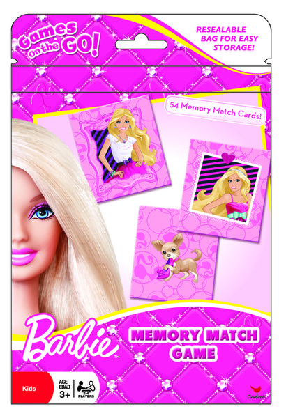 Games On The Go - Memory Match - Barbie -