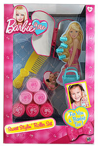 Barbie - Glamtastic Sweet Stylin Rollers - Cover