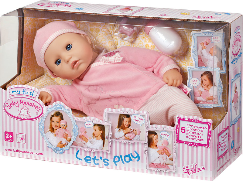 Baby Born My First Baby Annabell Lets Play Doll