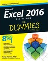 Excel 2016 All-In-One For Dummies - Greg Harvey (Paperback)