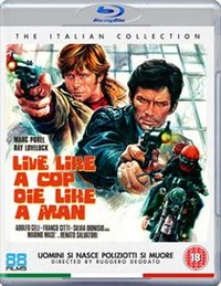 Live Like a Cop, Die Like a Man (Blu-ray) - Cover