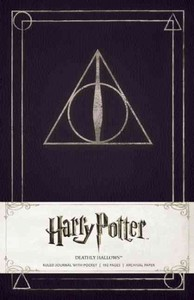 Harry Potter Deathly Hallows Hardcover Ruled Journal - Insight Editions (Hardcover) - Cover