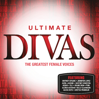 Various Artists - Ultimate....Divas (CD) - Cover