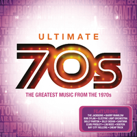 Various Artists - Ultimate ....70's (CD) - Cover