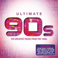 Various Artists - Ultimate....90's (CD) - Cover