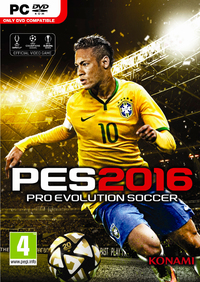 Pro Evolution Soccer 2016 (PC) - Cover