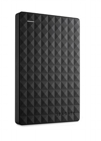 Seagate 1TB Expansion, USB 3.0, 2.5 Inch External Drive - Black - Cover
