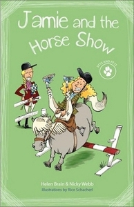 Vets and Pets 2 -  Jamie and the Horse Show - Helen Brain (Paperback) - Cover