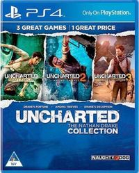UNCHARTED: The Nathan Drake Collection (PS4) - Cover