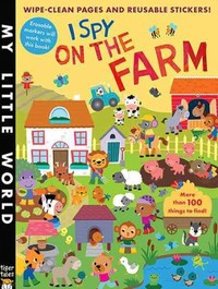 I Spy on the Farm - Libby Walden (Paperback) - Cover