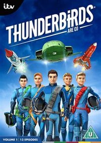 Thunderbirds Are Go: Volume 1 (DVD) - Cover