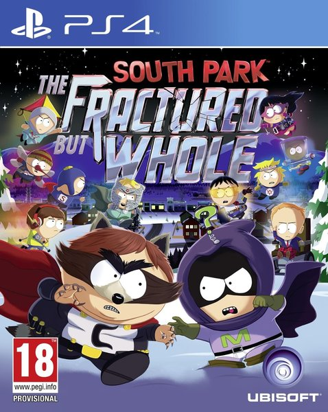 Kết quả hình ảnh cho South Park The Fractured But Whole cover ps4