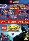 LEGO: Justice League Vs Bizarro League/Batman (DVD) Cover