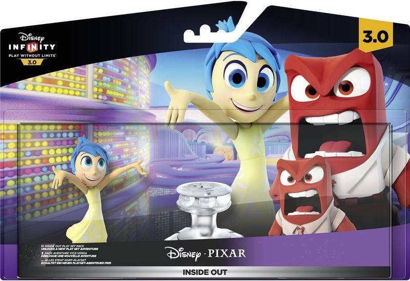 Disney Infinity 3 0 Character - Inside Out Play Set (Anger & Joy)