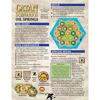 Catan Scenarios - Oil Springs Expansion (Board Game)