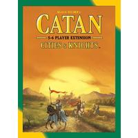 Catan - Cities & Knights: 5-6 Player Extension (Board Game)