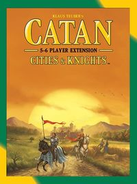 Catan - Cities & Knights: 5-6 Player Extension (Board Game) - Cover