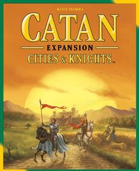 Catan - Cities & Knights Expansion (Board Game) - Cover