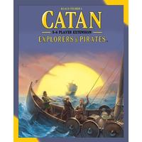 Catan - Explorers & Pirates: 5-6 Player Extension (Board Game)