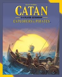 Catan - Explorers & Pirates: 5-6 Player Extension (Board Game) - Cover
