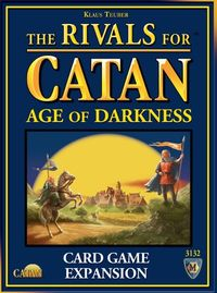Rivals for Catan - Age of Darkness Expansion (Card Game) - Cover