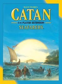 Catan - Seafarers: 5-6 Player Extension (Board Game) - Cover