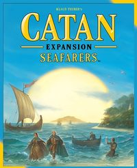 Catan - Seafarers Expansion (Board Game) - Cover
