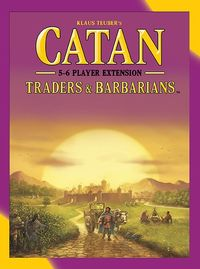Catan - Traders & Barbarians: 5-6 Player Expansion (Board Game) - Cover