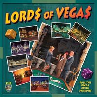 Lords of Vegas (Board Game) - Cover
