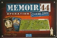 Memoir '44 - Operation Overlord Expansion (Board Game) - Cover