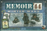 Memoir '44 - Winter Wars Expansion (Board Game) - Cover