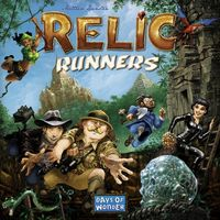 Relic Runners (Board Game) - Cover
