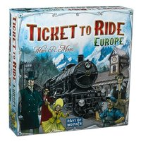 Ticket to Ride - Europe (Board Game) - Cover