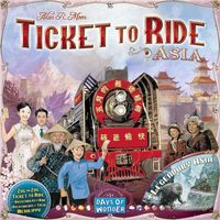 Ticket to Ride - Map Collection 1: Asia - Cover