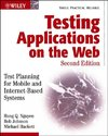 Testing Applications on the Web - Hung Quoc Nguyen (Paperback)